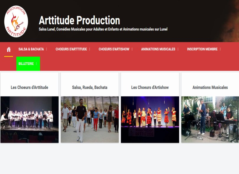 Arttitude-production.fr - ssociation Culturelle
