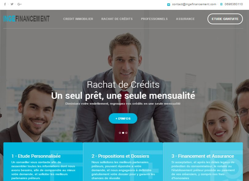 Ingefinancement - Credit immobilier